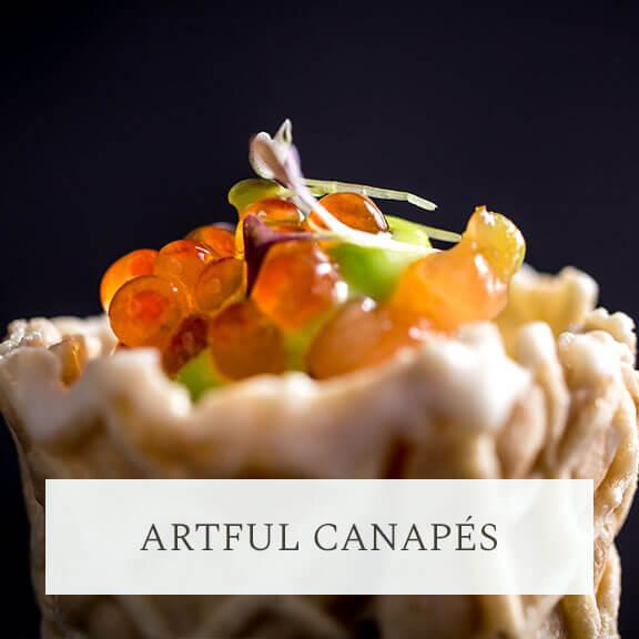 Artful Canapés